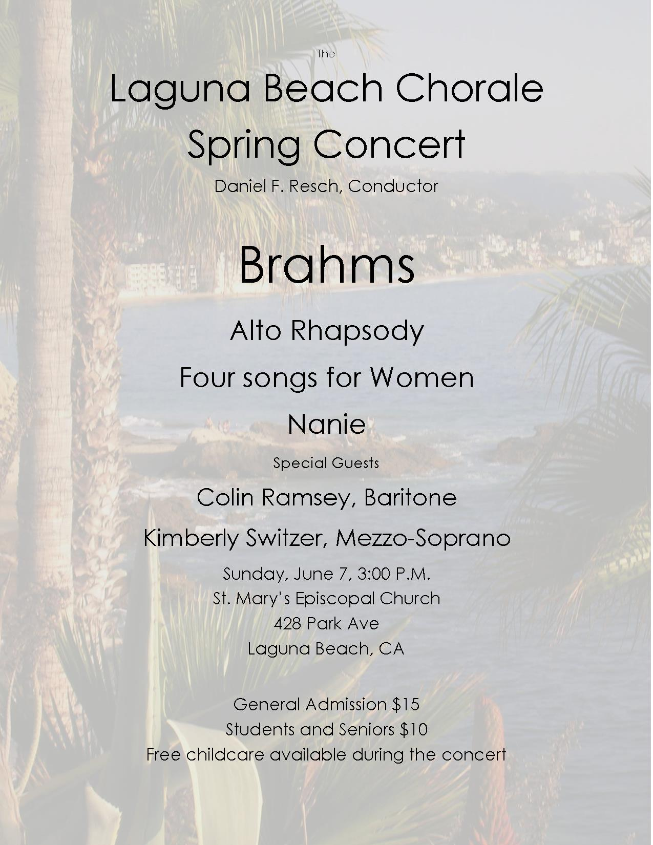 Spring 2015 concert