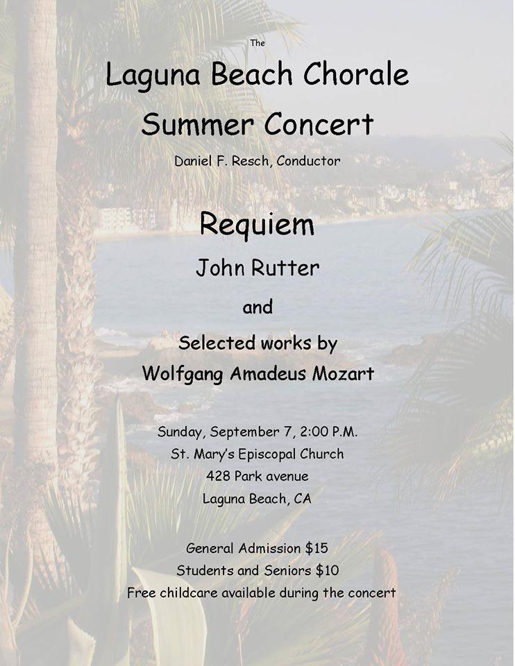 Summer Concert 2014 Rutter Requiem