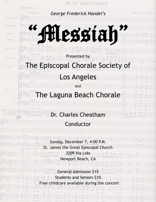 Winter 2014 Messiah Concert